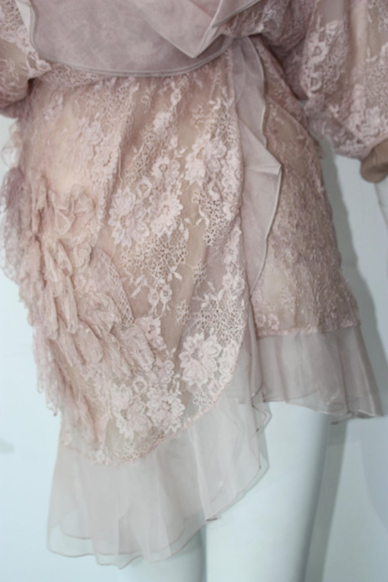 Valentino Lace Dress  For Sale 7