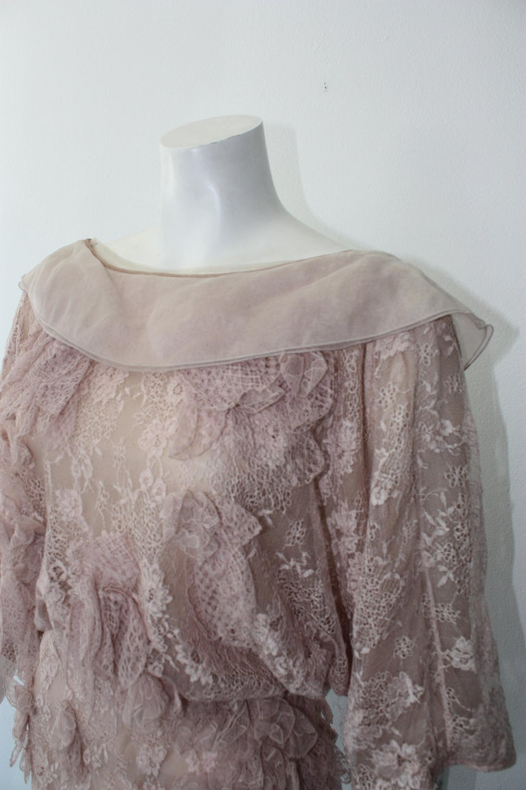 Valentino Lace Dress  For Sale 2