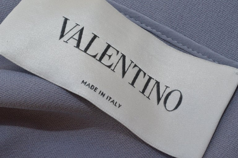 Women's Valentino Lilac Cape Gown  For Sale