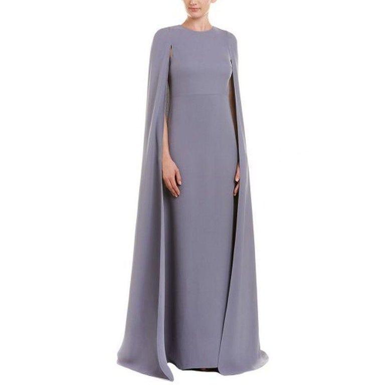 Valentino Lilac Cape Gown  For Sale 1