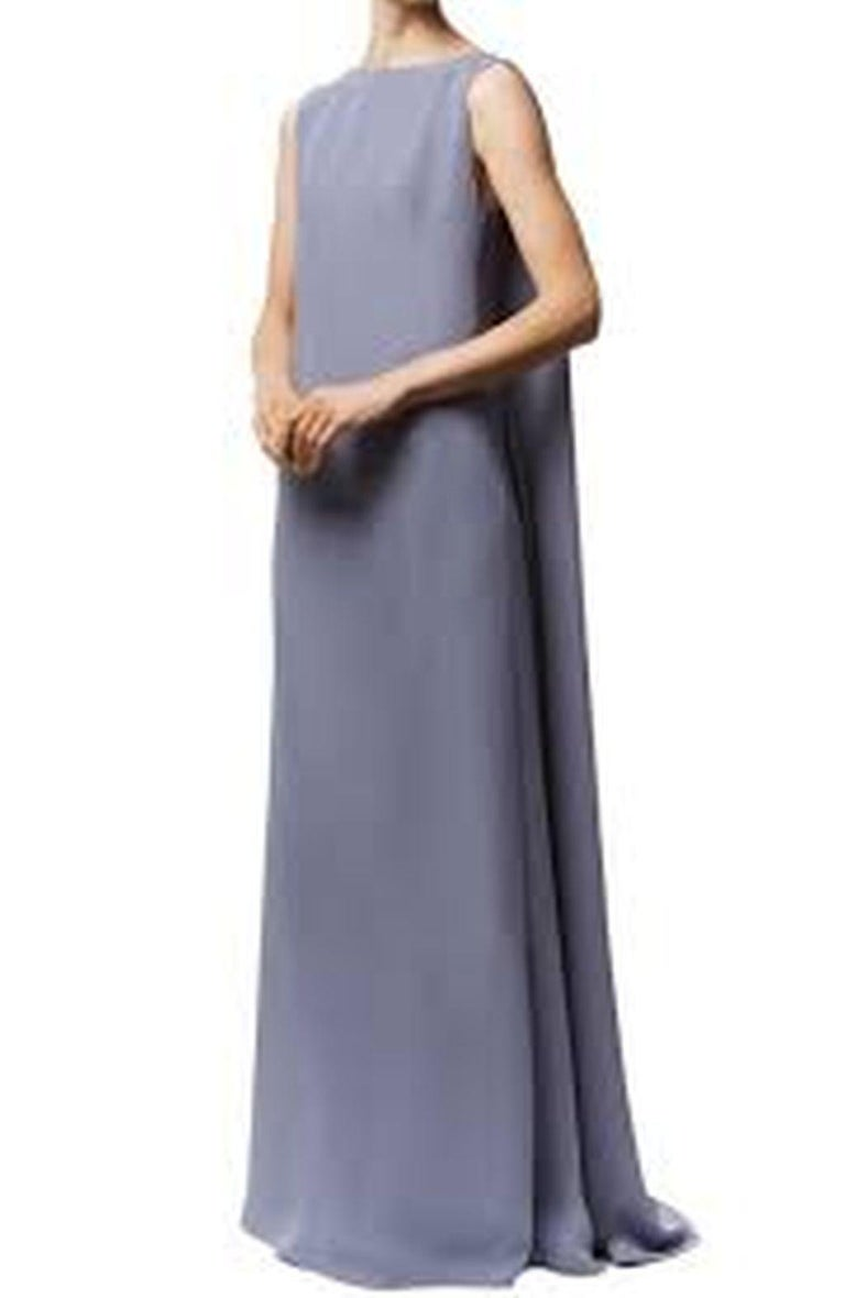 Valentino Lilac Cape Gown  For Sale 2