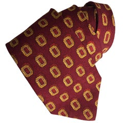 Valentino Mens Silk Neck Tie Vintage Cravate Italy