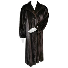 Valentino mink fur coat size 16