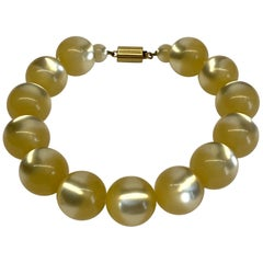 Valentino Moonglow Large Bead Necklace