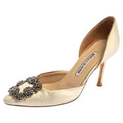 Valentino Multicolor Leather Rockstud Sandal Size 38