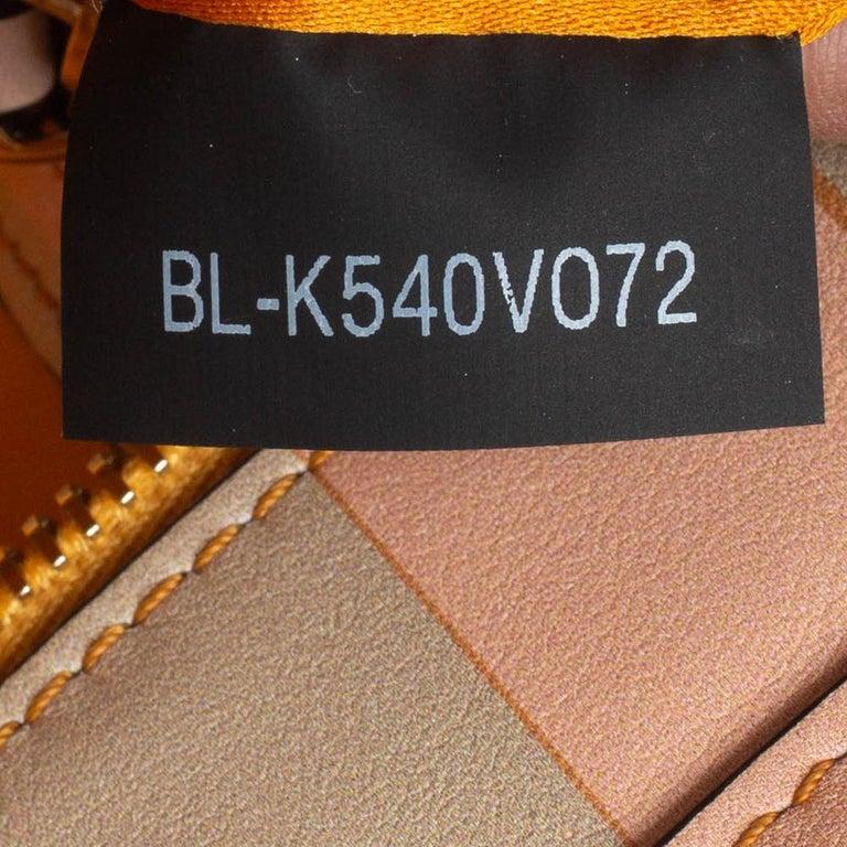 Valentino Multicolor Leather Small Native Couture 1975 Rockstud Tote 6