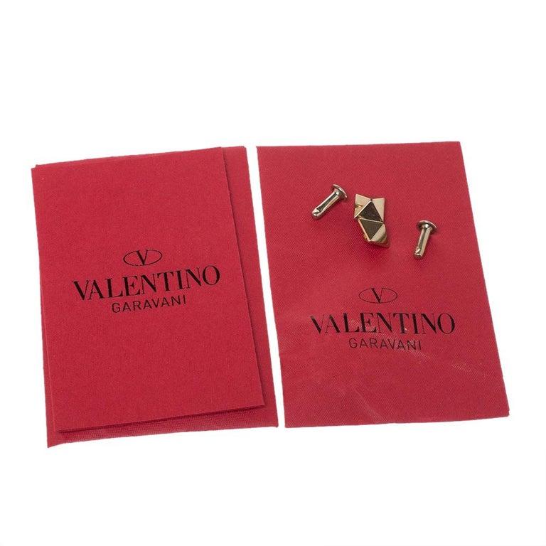 Valentino Multicolor Leather Small Native Couture 1975 Rockstud Tote 3