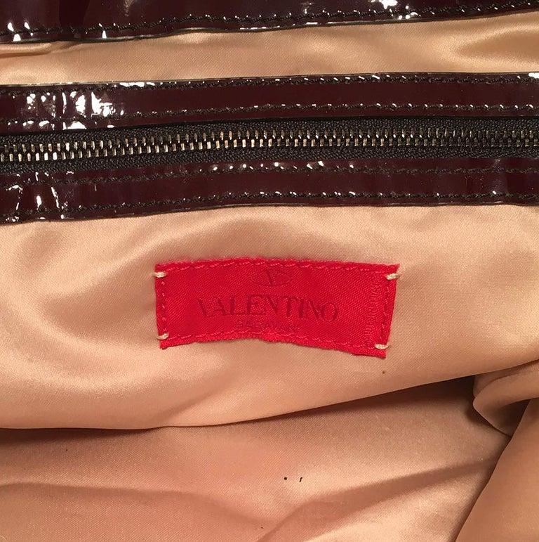 Valentino Multicolor Silk Rosier Rosettes Tote Bag For Sale 3