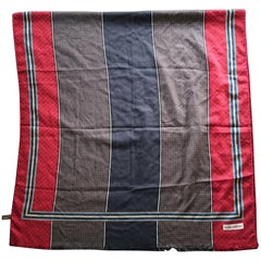 Valentino Multicolor Wool and Silk Scarf