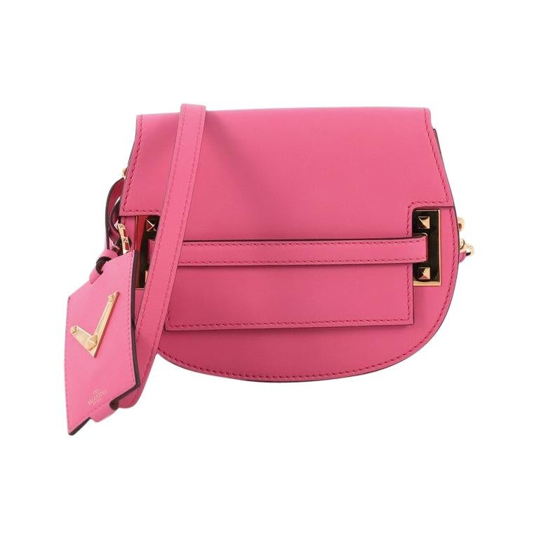 2a9e1e61844 Valentino My Rockstud Crossbody Bag Leather Small For Sale at 1stdibs