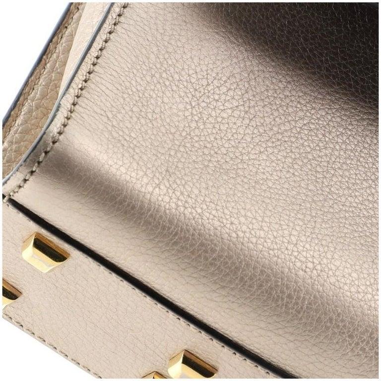 Valentino My Rockstud Satchel Leather Small  2