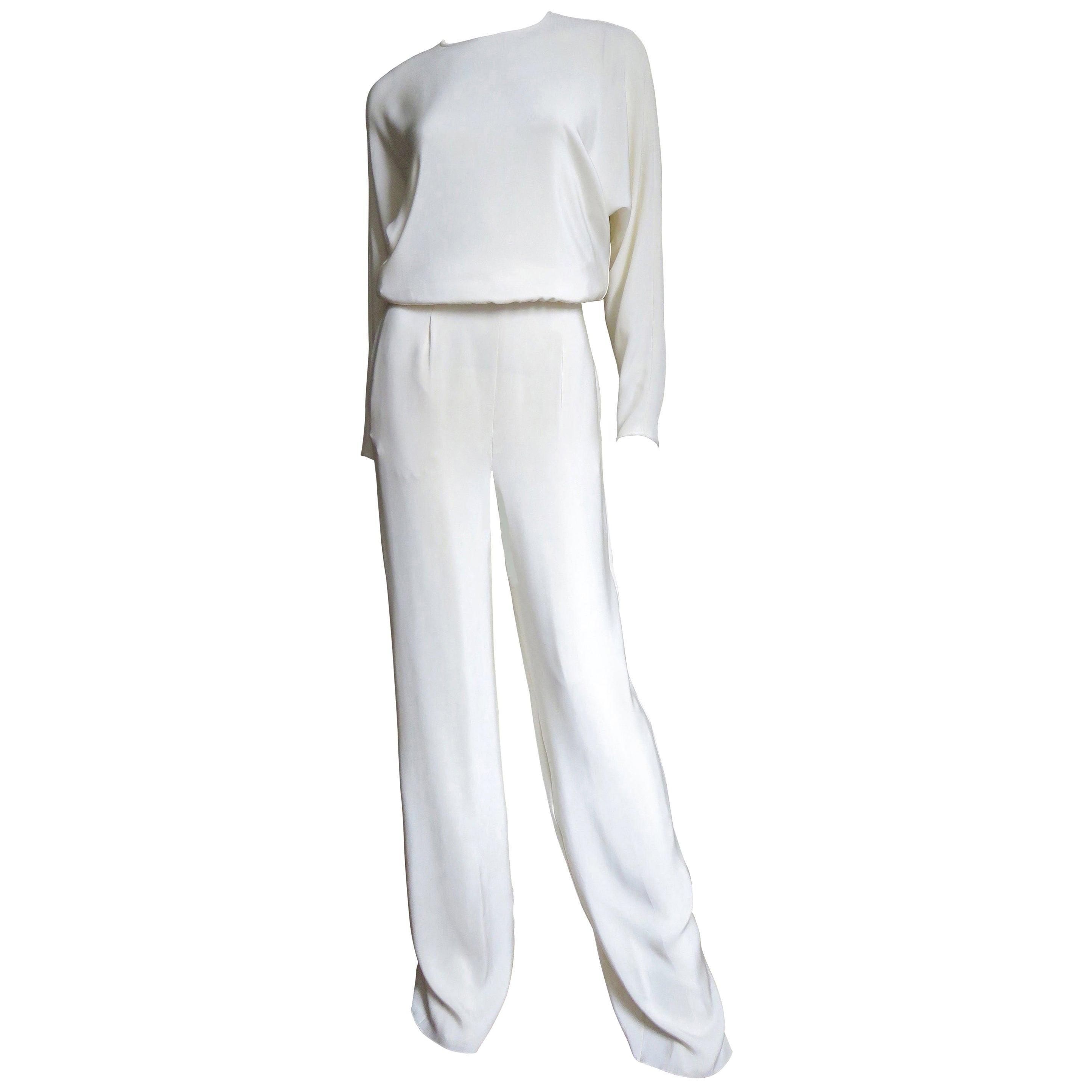 Valentino New Silk Jumpsuit