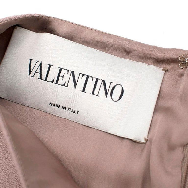 Valentino Nude Rockstud A-Line Dress US 6 For Sale 5