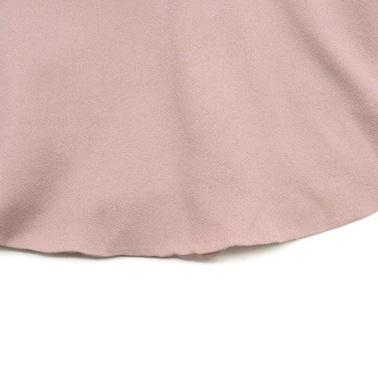 Valentino Nude Rockstud A-Line Dress US 6 For Sale 3