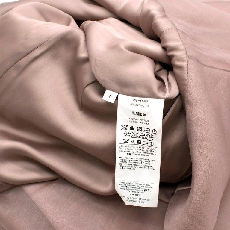 Valentino Nude Rockstud A-Line Dress US 6 For Sale 4