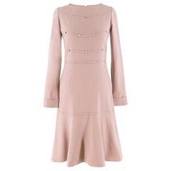 Valentino Nude Rockstud A-Line Dress US 6