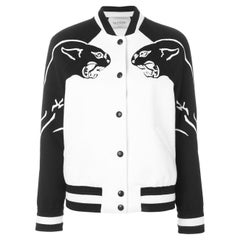Valentino Panther Wool Bomber Jacket