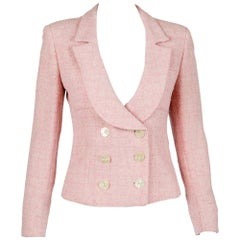 Valentino Pink Tweed Jacket