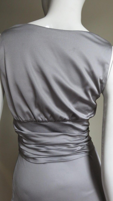 Valentino Silk Jersey Bodycon Dress For Sale 7