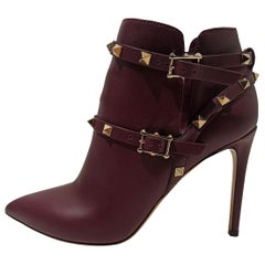 """Valentino """"Rockstud"""" Ankle Boots IT38"""
