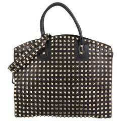 Valentino Rockstud Convertible Dome Tote Full Studded Leather