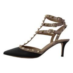 Valentino Rockstud Rockstud Ankle Strap 38 1/2