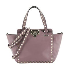 Valentino Rockstud Tote Soft Leather Mini