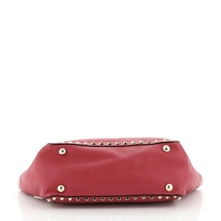 Women's or Men's Valentino Rockstud Tote Soft Leather Small