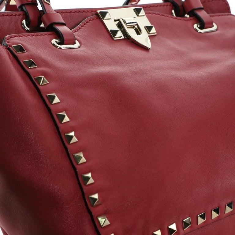 Valentino Rockstud Tote Soft Leather Small 2