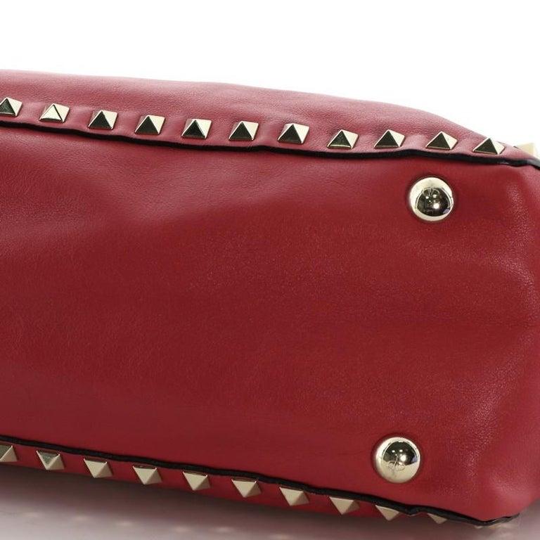 Valentino Rockstud Tote Soft Leather Small 3