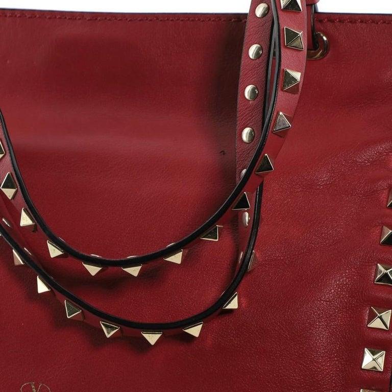 Valentino Rockstud Tote Soft Leather Small 4