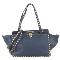 Valentino Rockstud Tote Soft Leather Small,