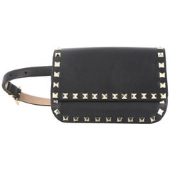 Valentino Rockstud Waist Bag Leather