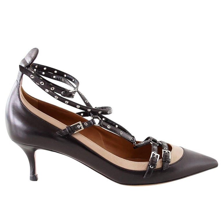 Valentino Shoe Bi Colour Strappy Ankle Strap Pump  39 / 9