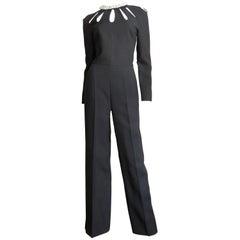 Valentino Silk Cutout Jumpsuit