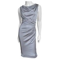 Valentino Silk Jersey Bodycon Dress