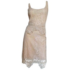 Valentino Silk Lace Skirt and Top
