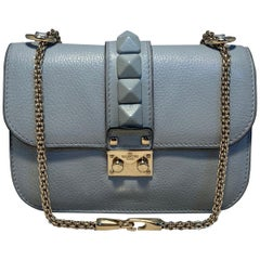 Valentino Small Glam Lock Rockstud Flap Bag Glamrock Shoulder Bag