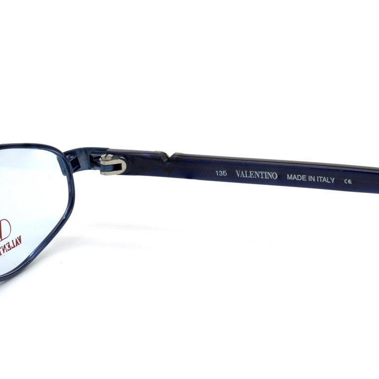 Women's or Men's Valentino vintage eyeglasses For Sale