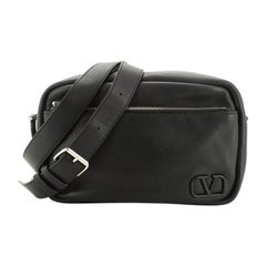 Valentino VLogo Shoulder Bag Leather Medium