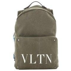 Valentino VLTN Backpack Printed Canvas Large
