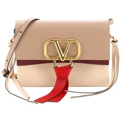 Valentino VRing Crossbody Bag Leather Small