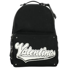 Valentino Woman Backpacks Black Fabric