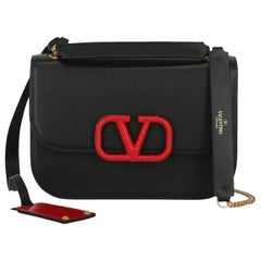 Valentino Woman Shoulder bag Black Leather