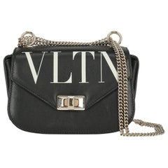 Valentino Woman Shoulder bag  Black Leather