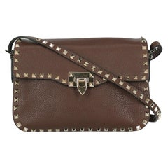 Valentino Woman Shoulder bag Brown Leather
