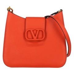 Valentino Woman Shoulder bag Orange Leather