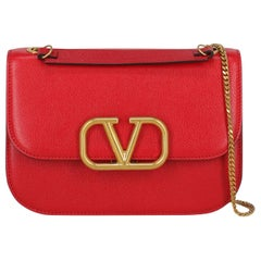 Valentino Woman Shoulder bag  Red Leather