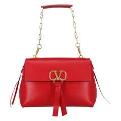 Valentino Woman Shoulder bag VRing Red Leather