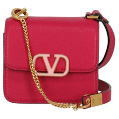 Valentino Women  Shoulder bags  Pink Leather